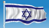 Flag of Israel - vector illustration