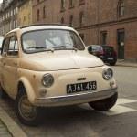 Постер, плакат: Old Fiat 500 L