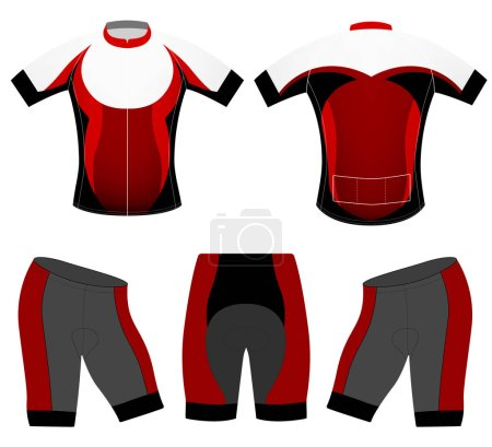 Cycling clothing fashion design