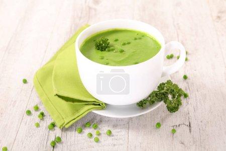 bowl pea soup