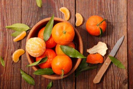 fresh mandarin fruit