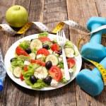 Diet food,vegetable salad