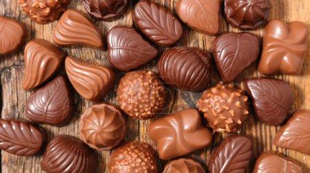 assortment chocolate candies
