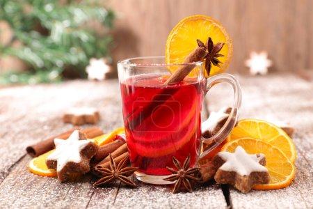 Winter Christmas drink