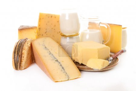 assorted dairy products