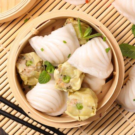 dim sum dumplings, Chinese-Thai cuisine