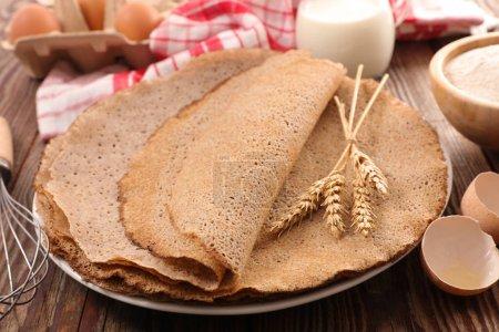 buckwheat crepe cakes