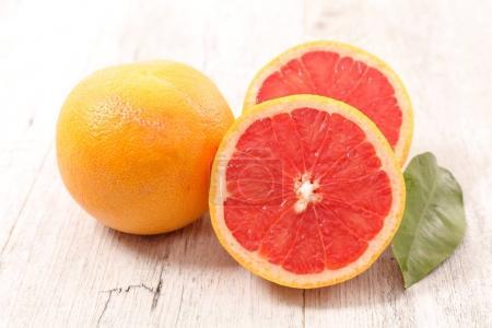 delicious fresh grapefruits