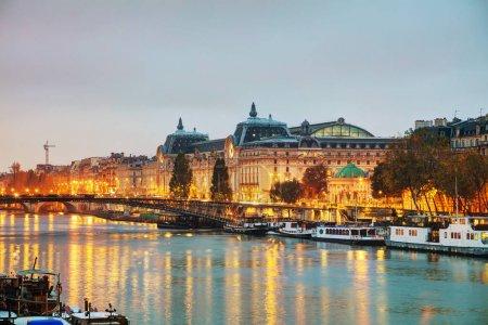 D'Orsay museum building in Paris, France