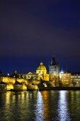 Charles bridge tower in Prague