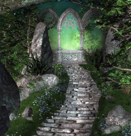 Mysterious magic portal