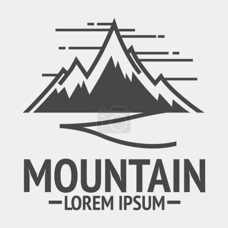 Mountain vintage logos