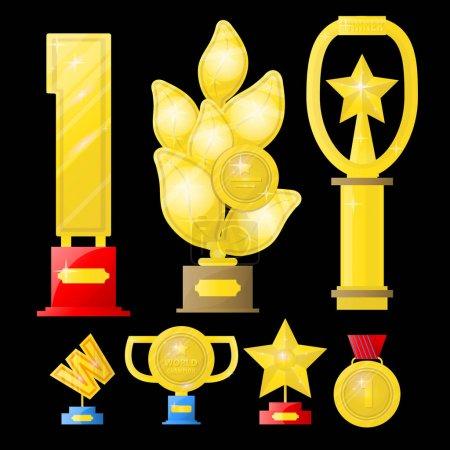 golden Awards set