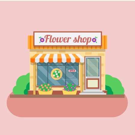 facade of Flower shop