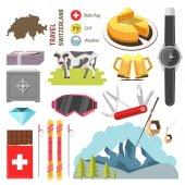 Switzerland travel collection