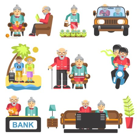 Lebensstil älterer Menschen