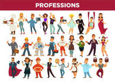 Professions and occupation specialists