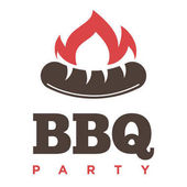 Barbecue or grill logo template