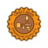 Craft beer premium quality logo