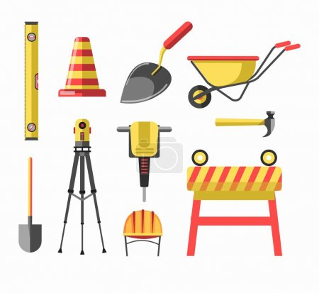 Building or construction equipment and tools