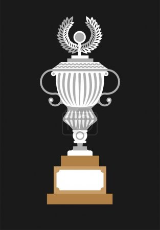 trophy cup winner graphic icon