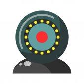 Webcam round device