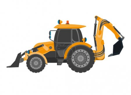 Crawler continuous tracked tractor