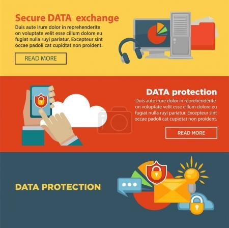Secure data exchange and protection program