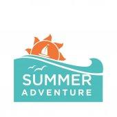 Summer holidays logo