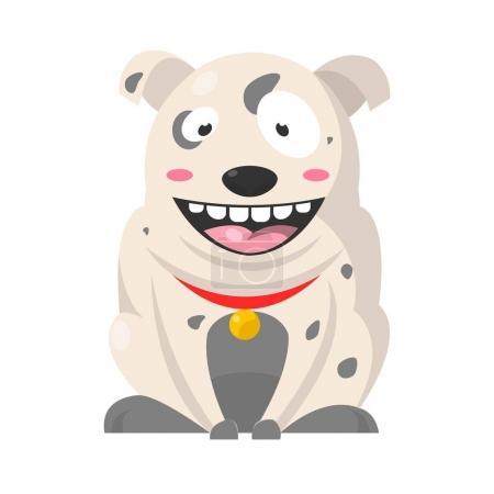 Big smiling Bulldog