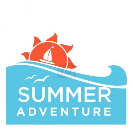 Summer adventure text