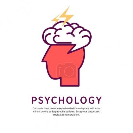 Psychology concept illustration