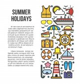 Summer holidays information list