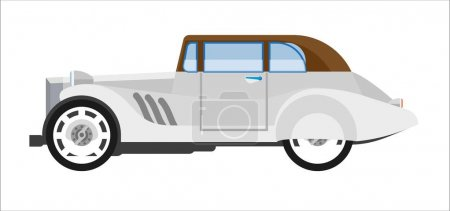 Gray colored classic vehicle