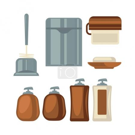 Bathroom things collection