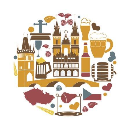 Czech Republic national elements collection