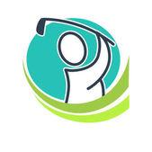 Professional golf club emblem