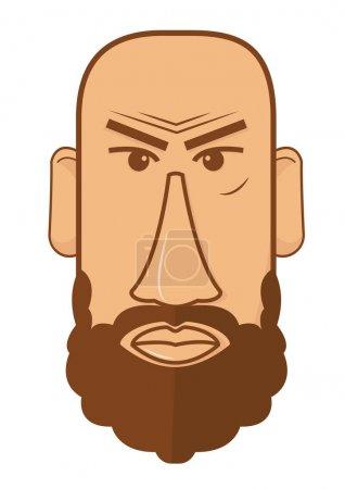 Avatar of bald male with beard