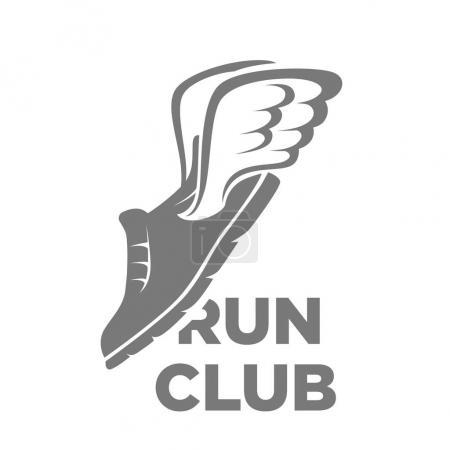 Professional run club logotype