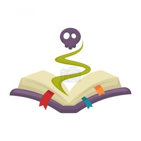Mysterious cartoon book