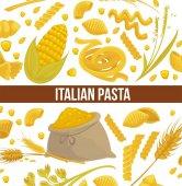 Italian pasta advertisement poster