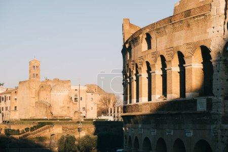 Roma, Italia - Jan 2, 2020: Coliseo, Roma, Italia