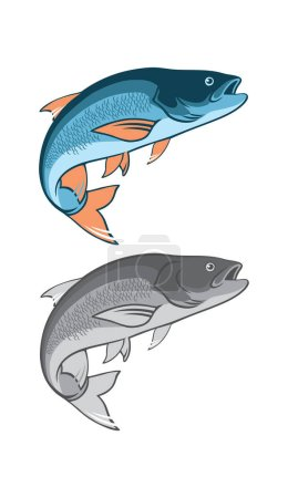 Asp fish for logo