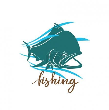Dorado fish for logo