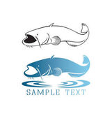 Catfish for logo or print