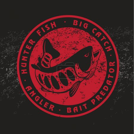 Trout fish for logo