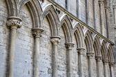 Cathedral Facade in Ely, Cambridgeshire