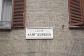 Sant Eufemia Street Sign, Modena