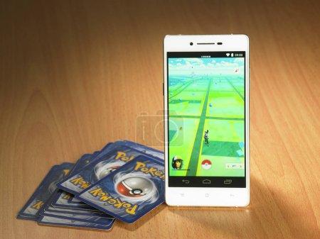 Card game to Pokemon Go