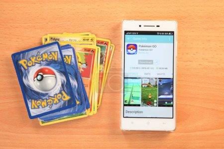 From pokemon card game to Pokemon Go